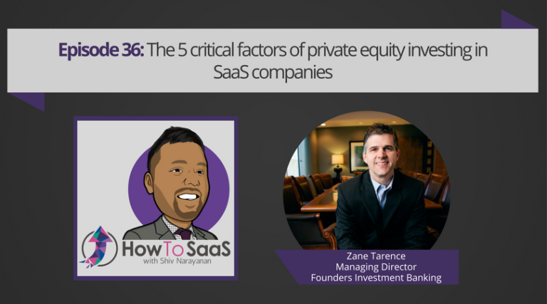 Zane Tarence Featured on How to SaaS Podcast
